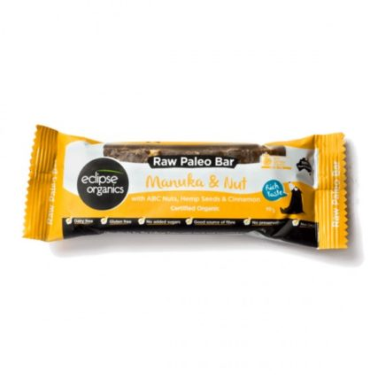 Eclipse Organics - Organic Paleo Manuka, Hemp and Nut Bar