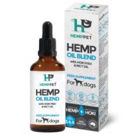 HempPet - Hemp Oil Blend with Hoki Fish & MCT Oil for Dogs