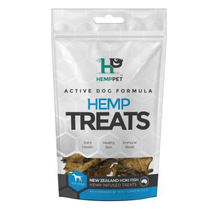 HempPet -  New Zealand Hoki Fish Hemp Infused Treats for Cats