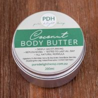Pure Delight Hemp - Vanilla Body Butter