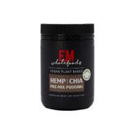 EM Wholefoods - Hemp & Chia Premix Pudding - Vanilla