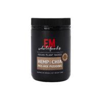 EM Wholefoods - Hemp & Chia Premix Pudding - Chocolate