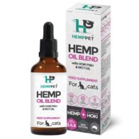 HempPet - Hemp Oil Blend with New Zealand Hoki Fish and MCT Oil for Cats