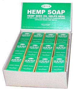 Green Hemp - Unscented Soap Box 36pcs