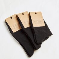 Hemp Clothing Australia - Daily Hemp Socks - Black