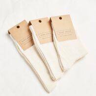 Hemp Clothing Australia - Daily Hemp Socks - Natural