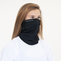 Ananda Health - Hemp Black Fusion / FLEX GAITER Face Mask - ONE SIZE