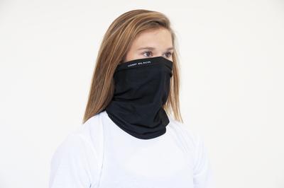 Ananda Health - Hemp Black Fusion / FLEX GAITER Face Mask - ONE SIZE