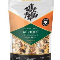 Blue Frog - Central Otago Apricot with Vanilla and Hemp Heart Cereal - 350g