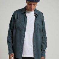 Afends - Late Start - Hemp Work Shirt