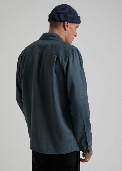 Afends - Late Start - Hemp Work Shirt