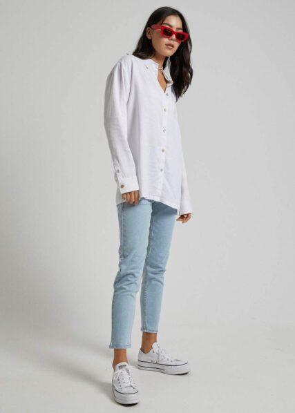 Afends - Mia - Hemp Raw Cut Shirt