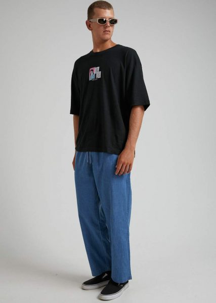 Afends - Couch Surfer - Hemp Chambray Pant