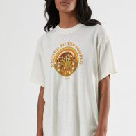 Afends - Power Flower Hemp Oversized Tee