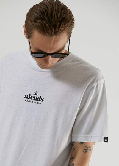 Afends - Flower to the People - Hemp Retro Fit Tee