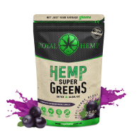 Royal Hemp - Hemp Super Greens Acai Berry Blast - 250g