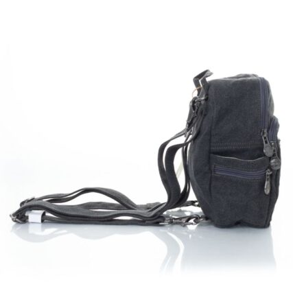 Sativa Compact Trio Hemp Backpack in Grey