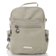 Sativa Compact Trio Hemp Backpack in Ice