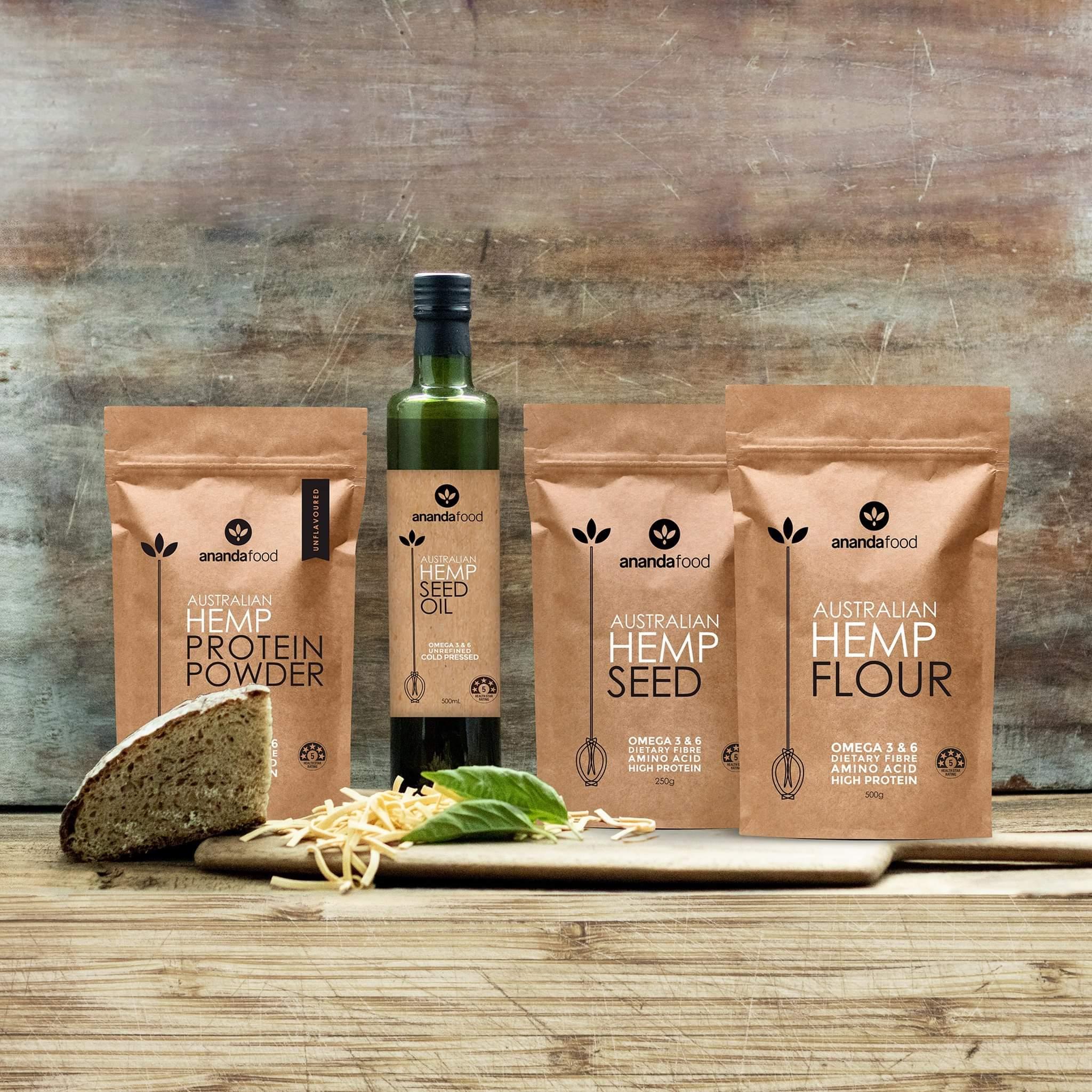 Ananda Food - Hemp Seeds 500g
