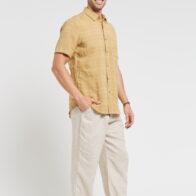 Braintree - Men's 100% Hemp Short Sleeve Shirt