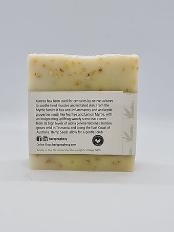 Herb Prophecy - Exfoliate Hemp Soap - 145g