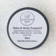 Blackwood Hemp - Natural Hemp Sunguard - 50ml