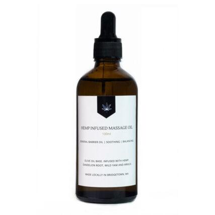 Blackwood Hemp - Massage Oil - 100ml