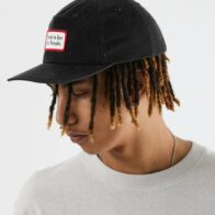 Afends - For The People - Hemp Snapback Cap - Black