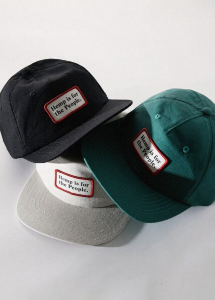 Afends - For The People - Hemp Snapback Cap - Forest