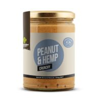 hemp store grounded crunchy peanut butter