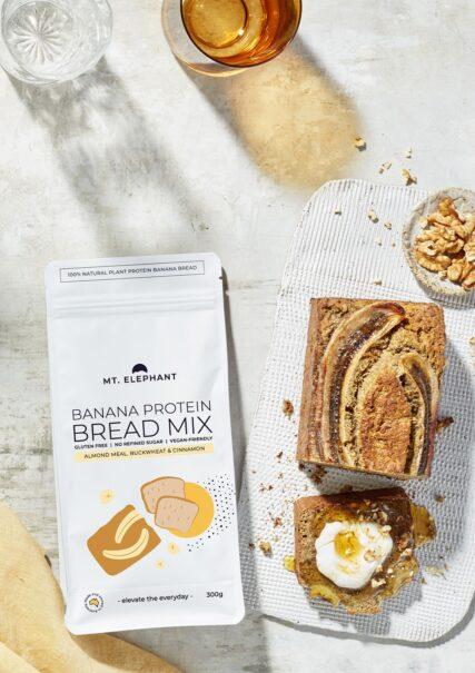 hemp store mt elephant protein banana bread mix