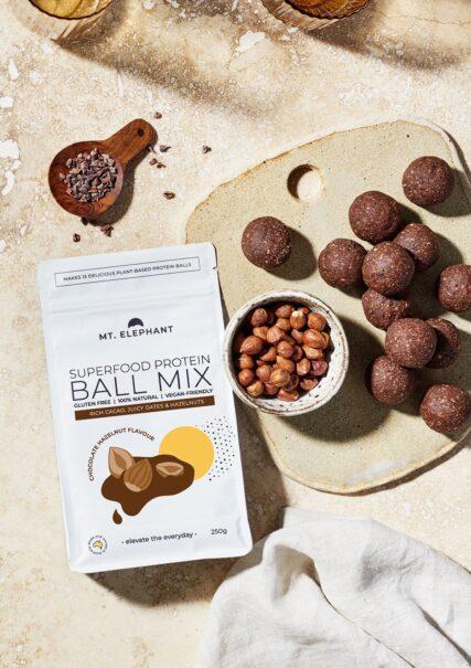 hemp store mt elephant choc hazelnut protein ball mix