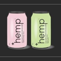 Plus Hemp - Hydrate Vitamin Water - Lemon & Lime - 330ml