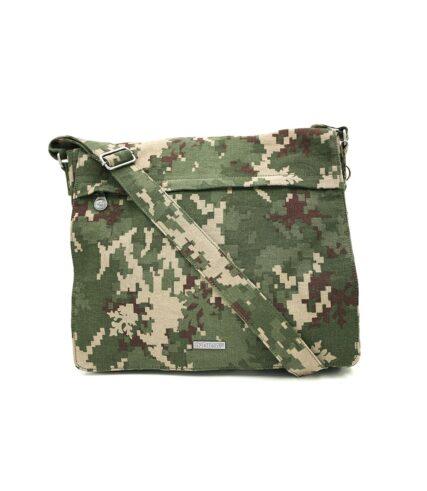 Sativa Indica Savannah Hemp Messenger Bag