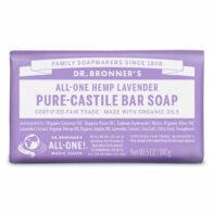 Dr Bronner's - Lavender Pure Castile Bar Soap