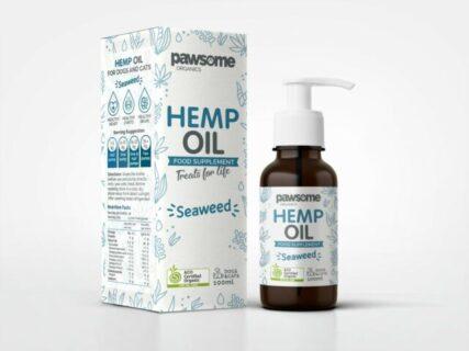Pawsome Organics - Hemp Oil with Seaweed 100ml