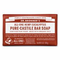 Dr Bronner's - Eucalyptus Pure Castile Bar Soap