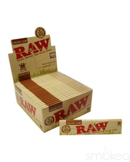 Raw - Organic Hemp King Slim Size Papers