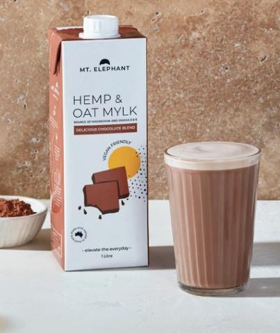 Mt. Elephant - Delicious Chocolate Hemp & Oat Mylk - 1L