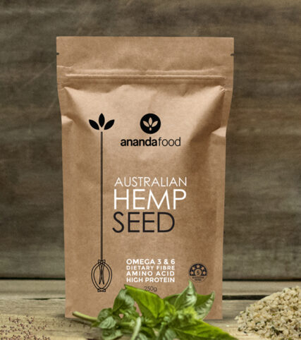 Ananda Food - Hemp Seeds 250g