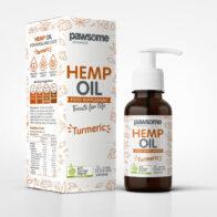Pawsome Organics - Hemp Oil with Turmeric 100ml