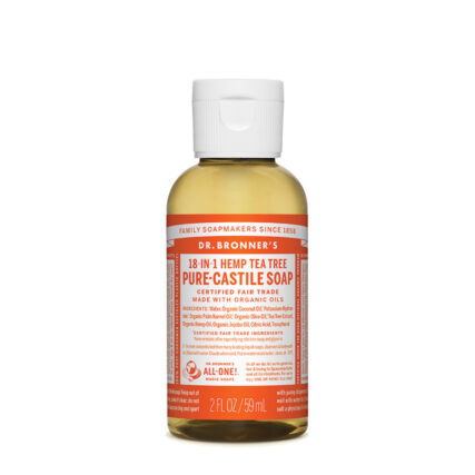 Dr Bronners - Tea Tree Pure Castile Soap - 59ml
