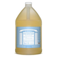 Dr Bronner's - Baby Unscented Pure Castile Soap 3.78L