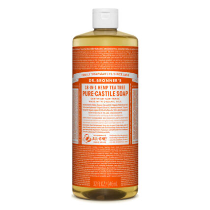 Dr Bronner's - Tea Tree Pure Castile Soap 946ml
