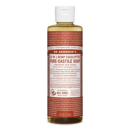 Dr Bronner's - Eucalyptus Pure Castile Soap 237ml