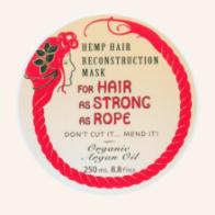The Good Oil - Hemp Hair Mask with Argan Oil - 250ml