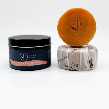 Hemp Collective - Organic Shampoo Bar - Orange, Grapefruit and Lemon - Refill Only - 100g