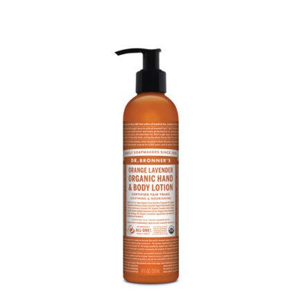 Dr. Bronner's - Organic Hand & Body Lotion - Orange Lavender - 237ml