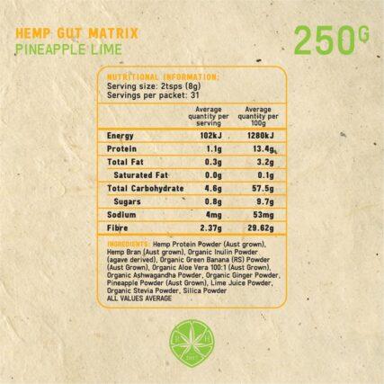 Royal Hemp - Hemp Gut Matrix Pineapple Lime