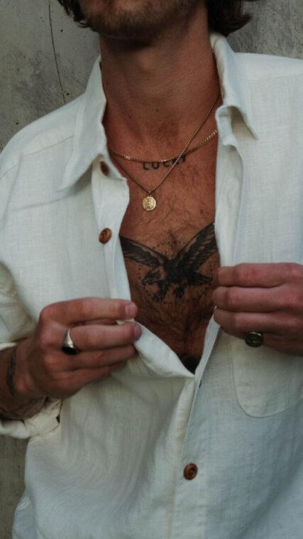 Hemp Clothing Australia 'Heritage' Men's Hemp Shirt